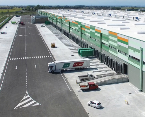 Polo logistico Amazon a Vercelli